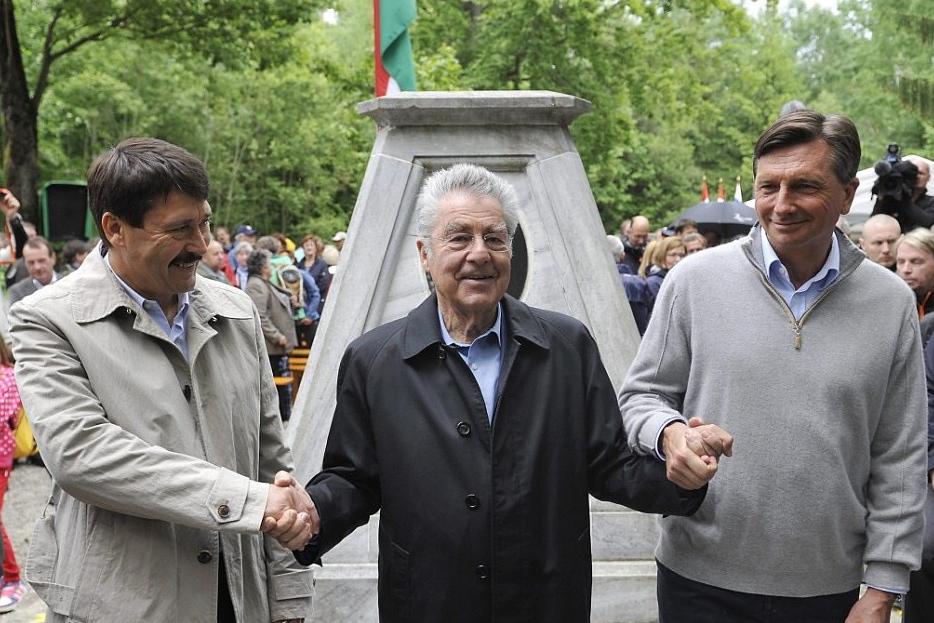 Präsidententreffen Dreiländereck