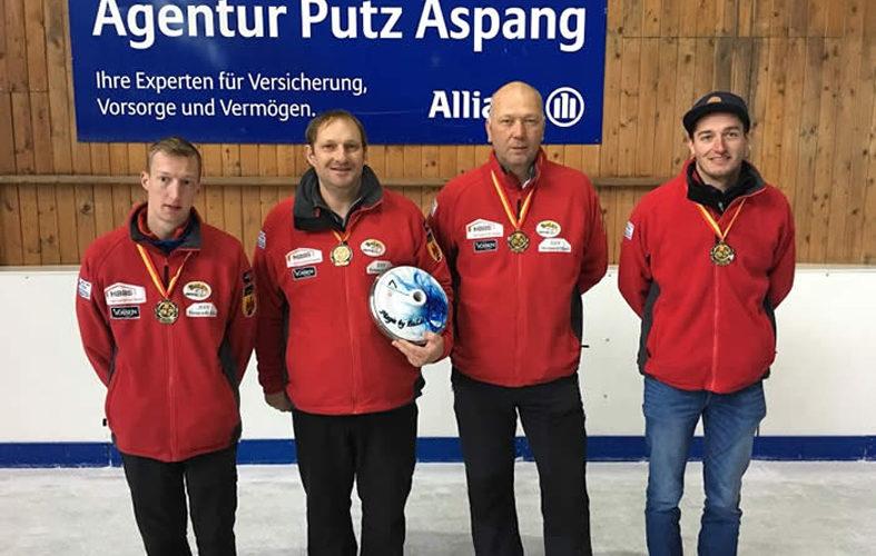 ESV Neumarkt I gewinnt Landesmeisterschaft im Stocksport